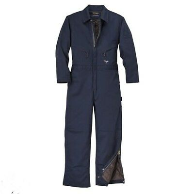 Mens Insulated Coverall Walls Blue Hip-Zip Classic Z15059 Cold Weather Jumpsuit