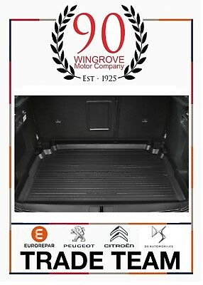 New Genuine Peugeot 3008 Suv 2017>  Boot Liner Protector Tray Retractable Floor
