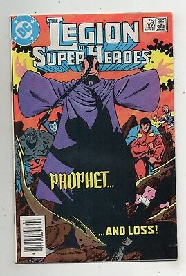 DC Comics The Legion of Super-Heroes #309 Copper Age