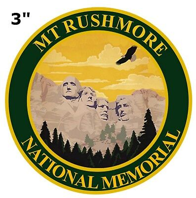 MT. RUSHMORE National Park Patch Souvenir Travel Embroidered Iron / Sew-on
