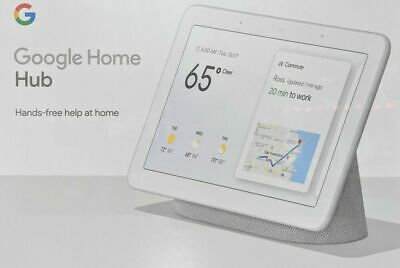 Google Home Hub Smart Home Controller Con Google Assistant Smart Display Grigio