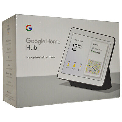 Google Home Hub Smart Home Controller Con Google Assistant Smart Display Nero