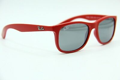 New Ray-Ban Junior Rj 9062S 7015 6G Red Sunglasses Authentic Frames 48- 5769fe5215