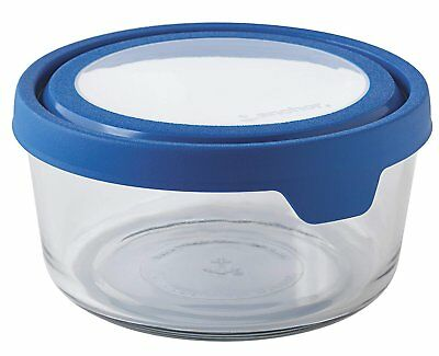 Anchor Hocking 13099AHG17 TrueSeal Glass Food Storage Containers with...
