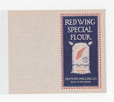Red Wing Milling Co. Booklet Red Wing,mn  & Pierson Milling Co. Billhead Kansas
