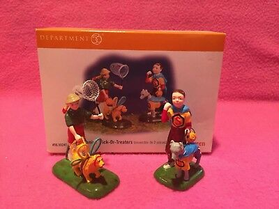 Department 56 Canine Trick Or Treaters Snow Village Halloween 55241