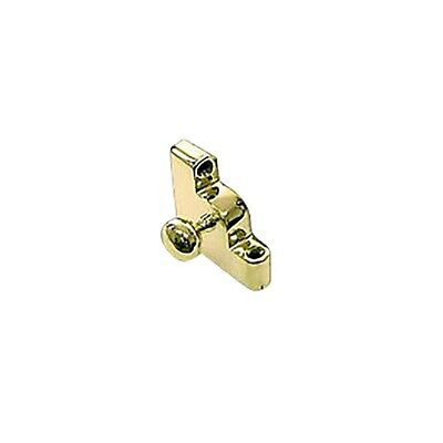Carpet Rod Bracket Solid Brass Left Side Ball | Renovator's Supply