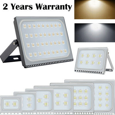 LED Floodlight 500W 300W 150W 100W 50W 30W 10W Outdoor Garden Security Light SMD