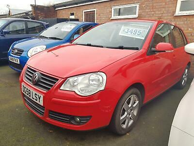 2008 VOLKSWAGEN POLO 1.2 Match 70 5dr