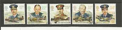Sg1336-40 Gb History Of The Royal Air Force Very Fine Used Set