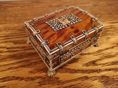 Fine Quality Beautifully Proportioned Late Victorian Vizagapatam Trinket Box