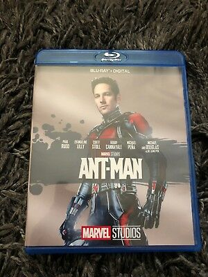 Marvel's Ant-Man (2015) Blu-Ray MCU Phase Two Action Comedy Classic