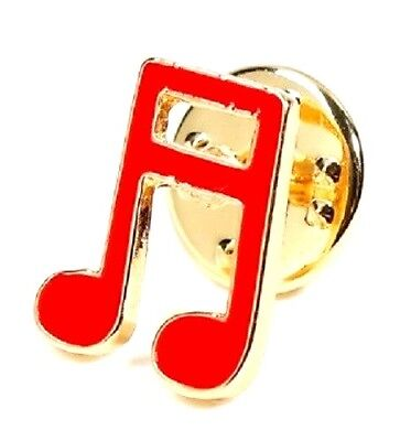 Musical Note Badge Pin Music Musician Enamel Instrument Classical Jazz