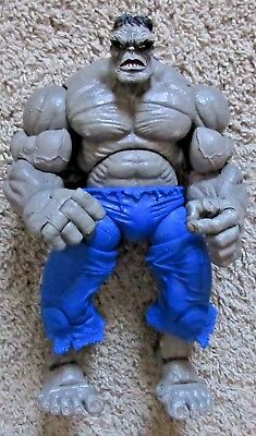 "Marvel Legends Icons Grey Hulk 12"" Inch Rare 2006 Toy Biz Incredible Gray"