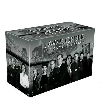 Law and Order: The Complete Series DVD 104-Disc Set, Seasons 1-20,