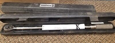 """KLEiN TOOLS 57010 1/2"""" Torque Wrench Ratchet SQ Drive"""