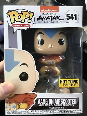 Funko Pop! Avatar The Last Airbender - Aang On Airscooter Hot Topic Exclusive