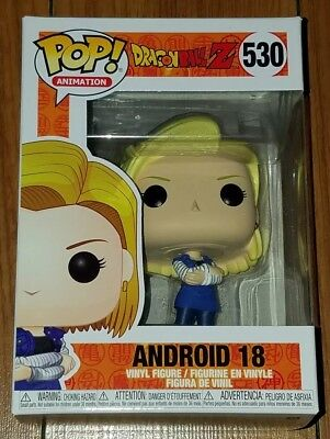 Funko Pop Animation #530 Android 18 Dragon Ball Z In Hand Now