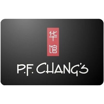 PF Changs $100 Gift Card