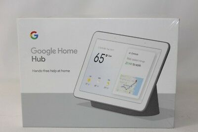 New Google Home Hub with Google Assistant GA00515-US - Charcoal