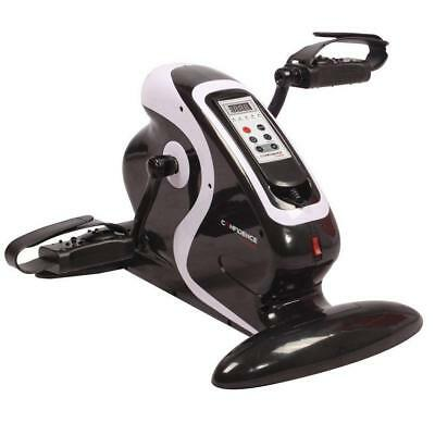 Confidence Fitness Motorized Electric Mini Exercise Bike/Pedal Exerciser Black
