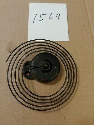 Ingraham Gothic Octagon Parlor Clock Coil Strike Gong