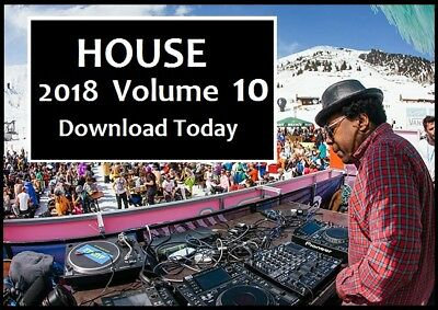 HOUSE 2018 Volume 10 DECEMBER Pack -DOWNLOAD Today- Funky & Disco 320kps MP3 DJ