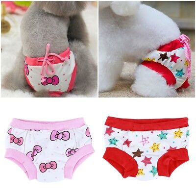 Dog Panty Underwear Puppy Pet Diaper Pants for Physiological Sanitary Practical