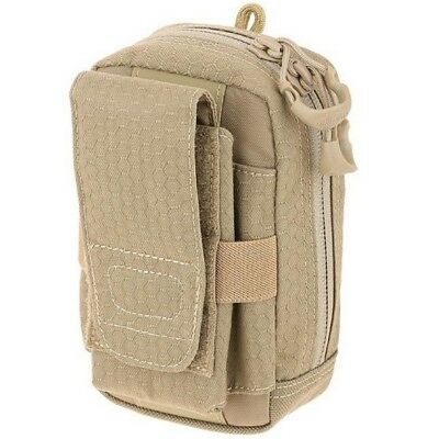 Maxpedition PUPTAN Tan Pup Phone Utility Pouch w/ MOLLE