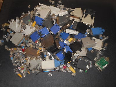 5.8 lbs- Gold Recovery - Electronic Connectors  E Waste Scrap