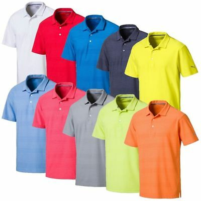 New Puma Pounce Aston Golf Polo - Choose Size And Color