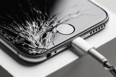 iPhone 6s Screen Cracked Broken Glass replacement mail in service LCD repair