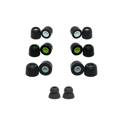 Memory foam replacement earbud tips for KZ ZSR ear tips and KZ ZS6 ear tips