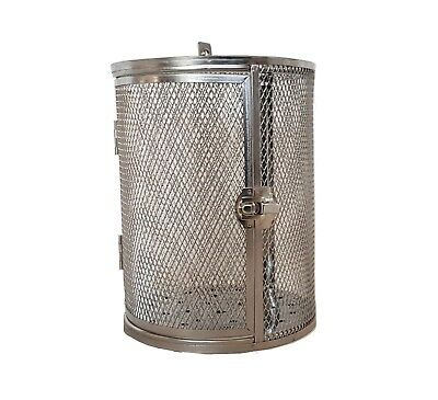 BOS & SARINO Coffee Bean Peanut BBQ Grill Cage Rotisserie Drum for Roaster Oven