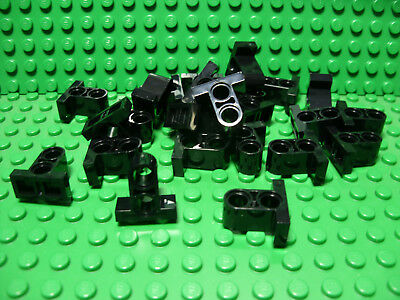 ** 25 CT Lot ** Lego NEW blue technic pin pieces   Lot of 25