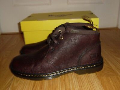 New Dr. Martens AirWair Sussex Dark Brown Leather Chukka Boots shoes Size 12