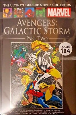 Marvel = Ultimate Graphic Novel Collection = #184=Avengers:galactic Storm Part 2