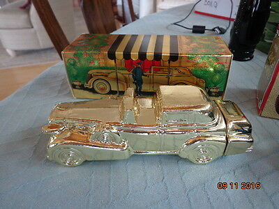 Vintage Avon Solid Gold Cadillac Wild Country After Shave 6 Fl Oz New In Box
