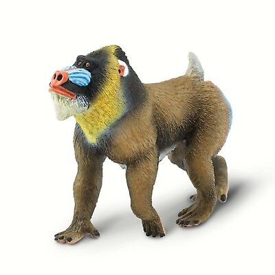 Mandrill Wild Safari Animal Figure Safari Ltd 100273 NEW IN STOCK