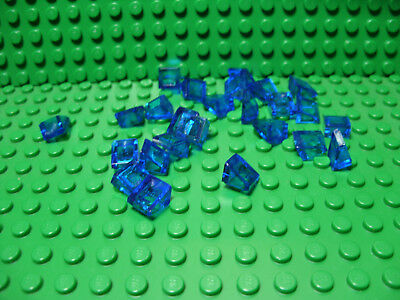 """** 25 CT LOT **  Lego NEW trans clear 3 x 3 /""""radar/"""" pieces  Lot of 25"""