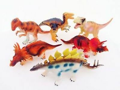 New 6 x BIG DINOSAURS Kids TOY MODEL ACTION * FIGURES ANIMALS TOYS