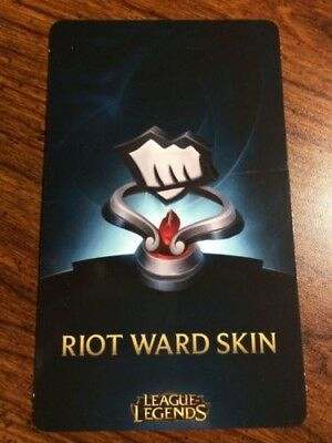 League of Legends  Fist Bump Riot Ward Skin Code NA ONLY and extras
