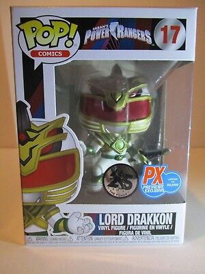 Funko POP! Power Rangers - Lord Drakkon Vinyl Figure Preview Exclusives (PX) #17