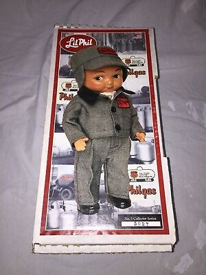 Vintage Advertising Collectible Composition Doll Phillips 66 Winter Lil Phil NOS