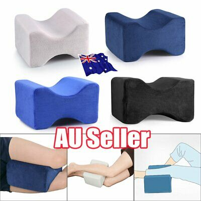 2019 Memory Foam Leg Pillow Cushion Knee Support Pain Relief Washable Cover BK