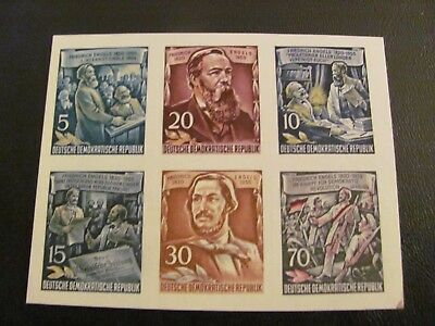 Germany/ddr 1955 From Ss Mnh