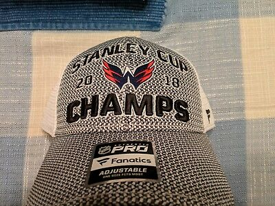 official photos 041fa 2501e clearance washington capitals 2018 stanley cup champions mens snapback adjustable  hat nwt de4df 21584