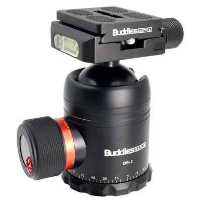 Heavy Duty Photography Camera Tripod Ball Head with 60mm Quick Release Plate