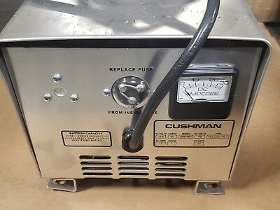New Cushman 886481 48 Volt 25 Amp Battery Charger Automatic