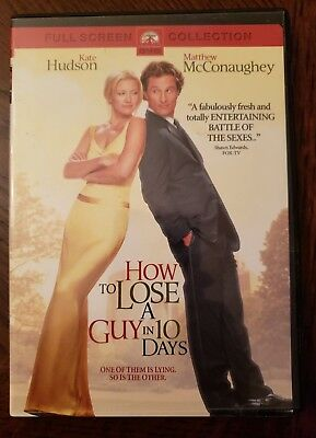 How To Lose A Guy In 10 Days Kate Hudson DVD Movie